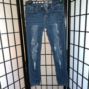 Distressed jeans ⚙️